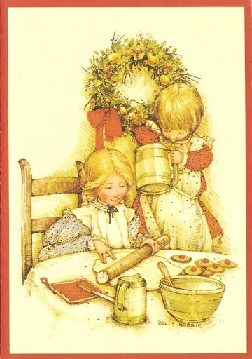 Holly Hobbie - Dutch collection Merry Christmas and Happy New Year