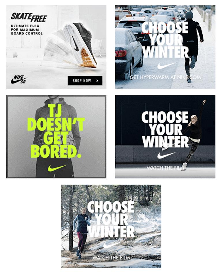 Nike Banner Ad Png 770 951 Banner Ads Design Banner Ads Banner Design