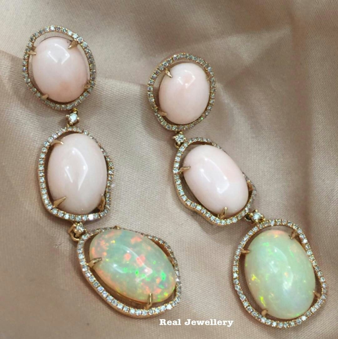 real onyx opal earrings minded