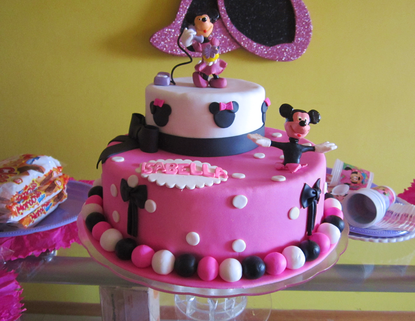 fashion lunares y animal print | pasteles minnie mouse | Pinterest ...