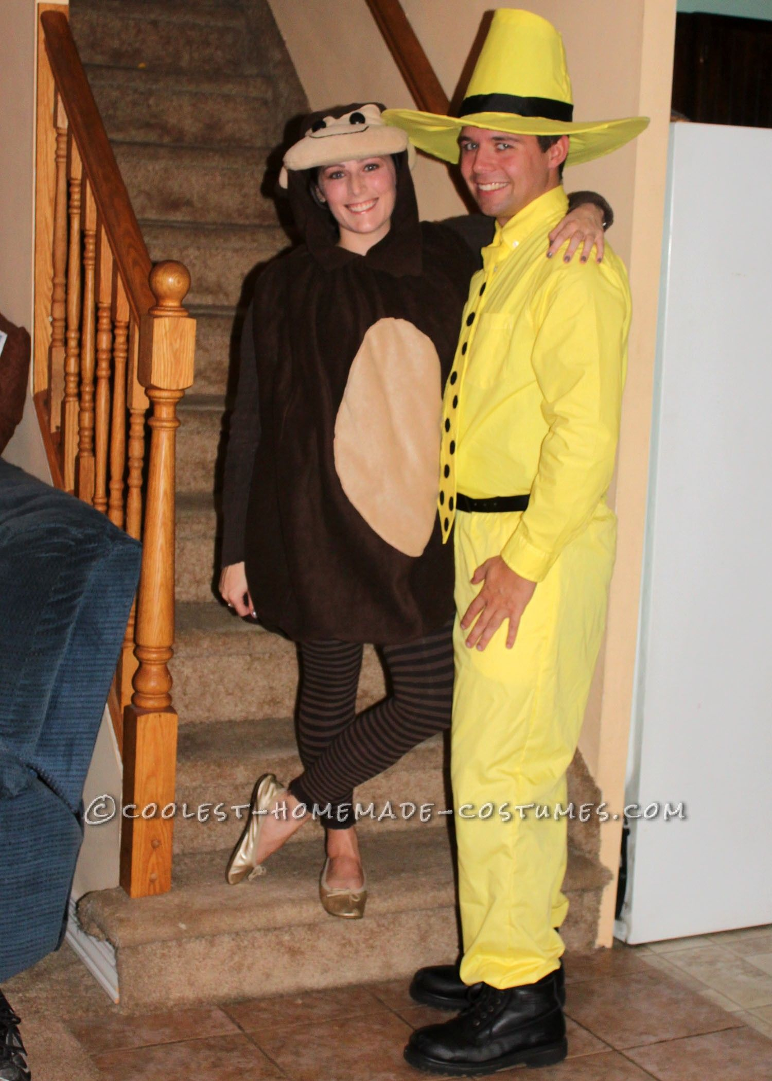 Adult Curious George and the Man with the Yellow Hat ...