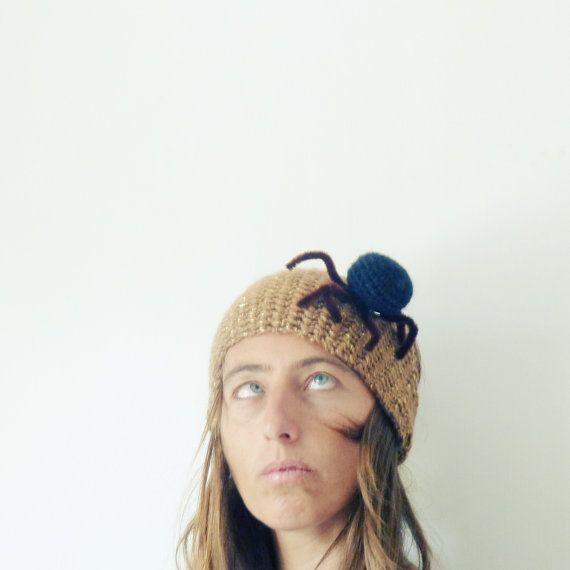 Headband Crochet Pattern halloween costume PDF Spider or pumkin ...