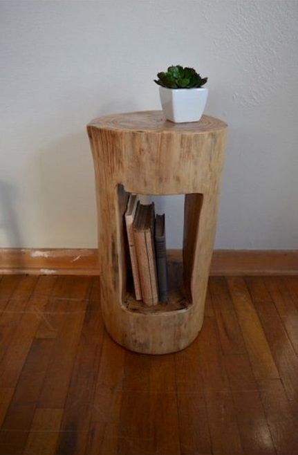 39 Spectacular Tree Logs Ideas For Cozy Households Tree Stump