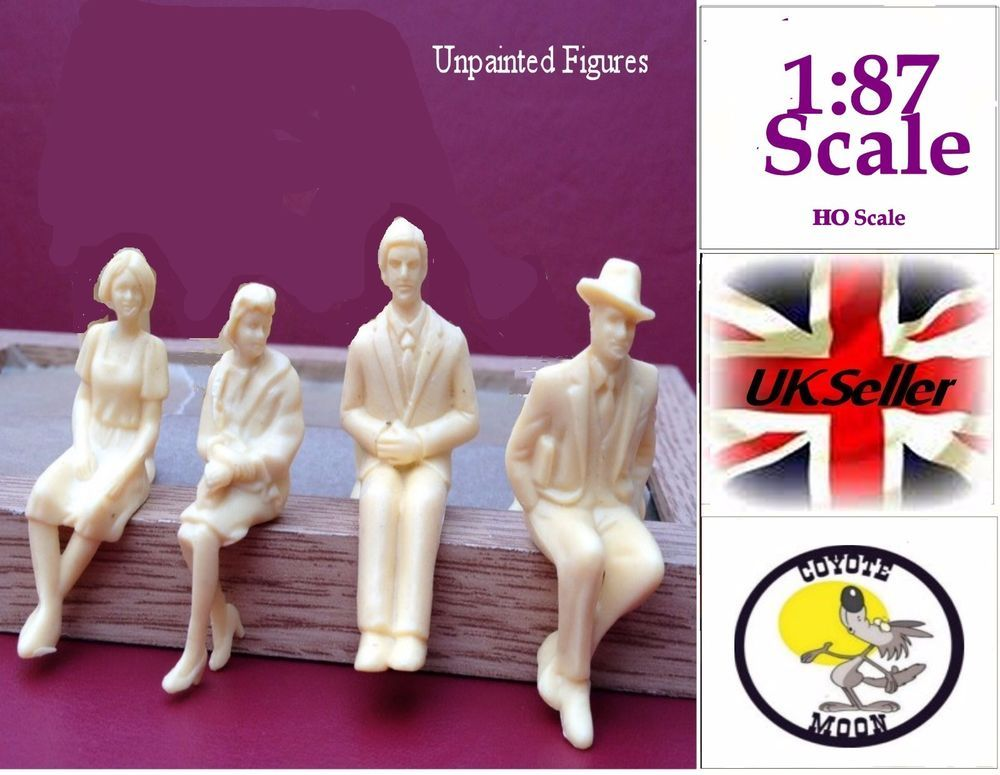 Details About 1 87 Scale Architecture Model Figures Ho Gauge People Seated Unpainted Pack 20 Architecture Model Model Architecture