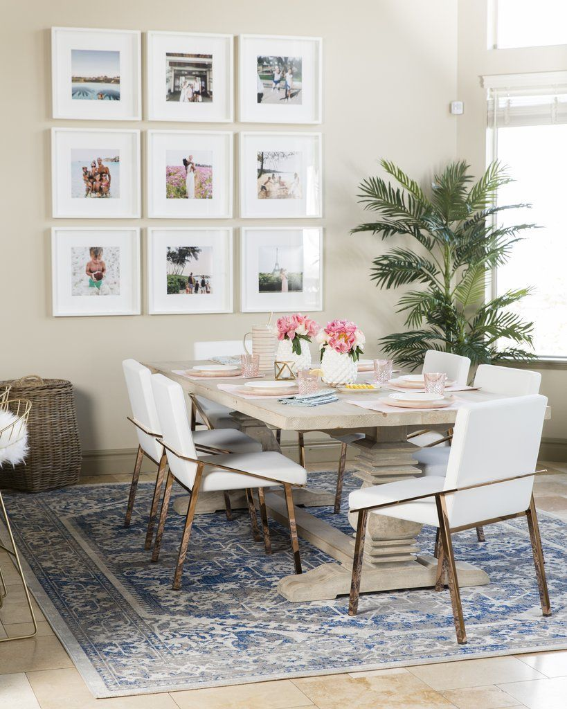 Wohnzimmer esszimmer design-ideen the  brilliant way this fashion blogger made her glam dining room