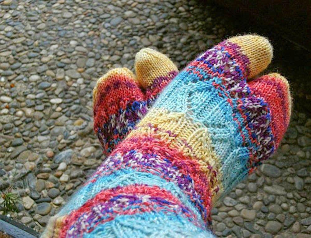 Awesome Freie Sockenmuster Stricken Vignette - Decke Stricken Muster ...