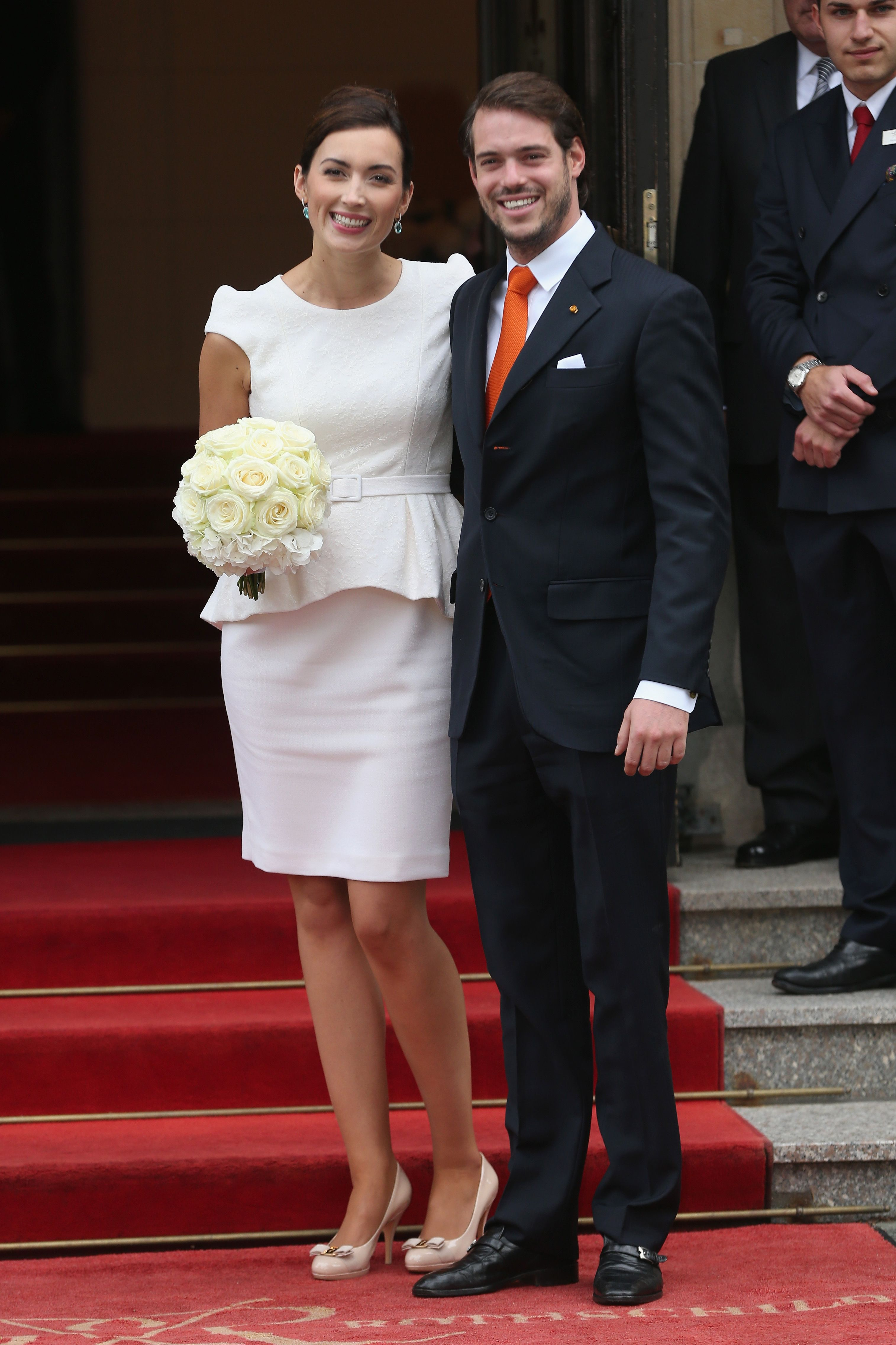 Civil Wedding Of Prince Felix Of Luxembourg & Claire Lademacher ...