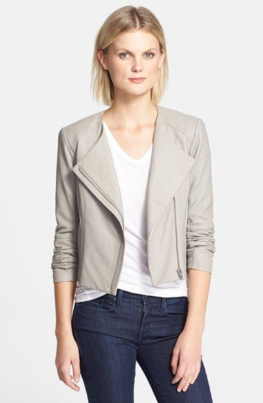 6dc300f7e7 VEDA  Dali  Leather Jacket in smoke available at  Nordstrom ...