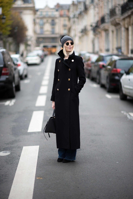 Long wool coat / Anna Sofia - Style Plaza
