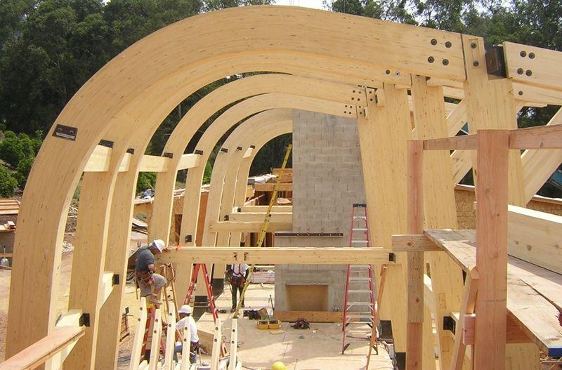 Curved Beam The Engineer Wood Beams Wood Laminate