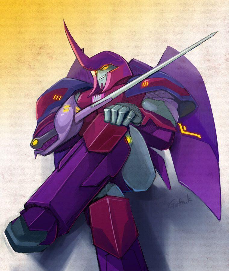 Transformers Oneshots - TFRID2015 Saberhorn x human reader
