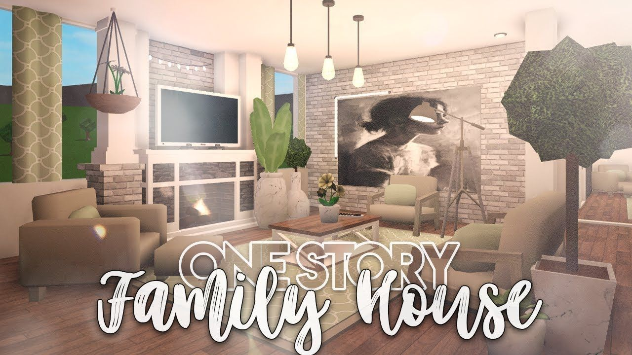 23 Benefits Using Bloxburg Living Room Ideas Modern That You Will Love To See Them Right Now Family House Modern House Floor Plans Modern Family Rooms
