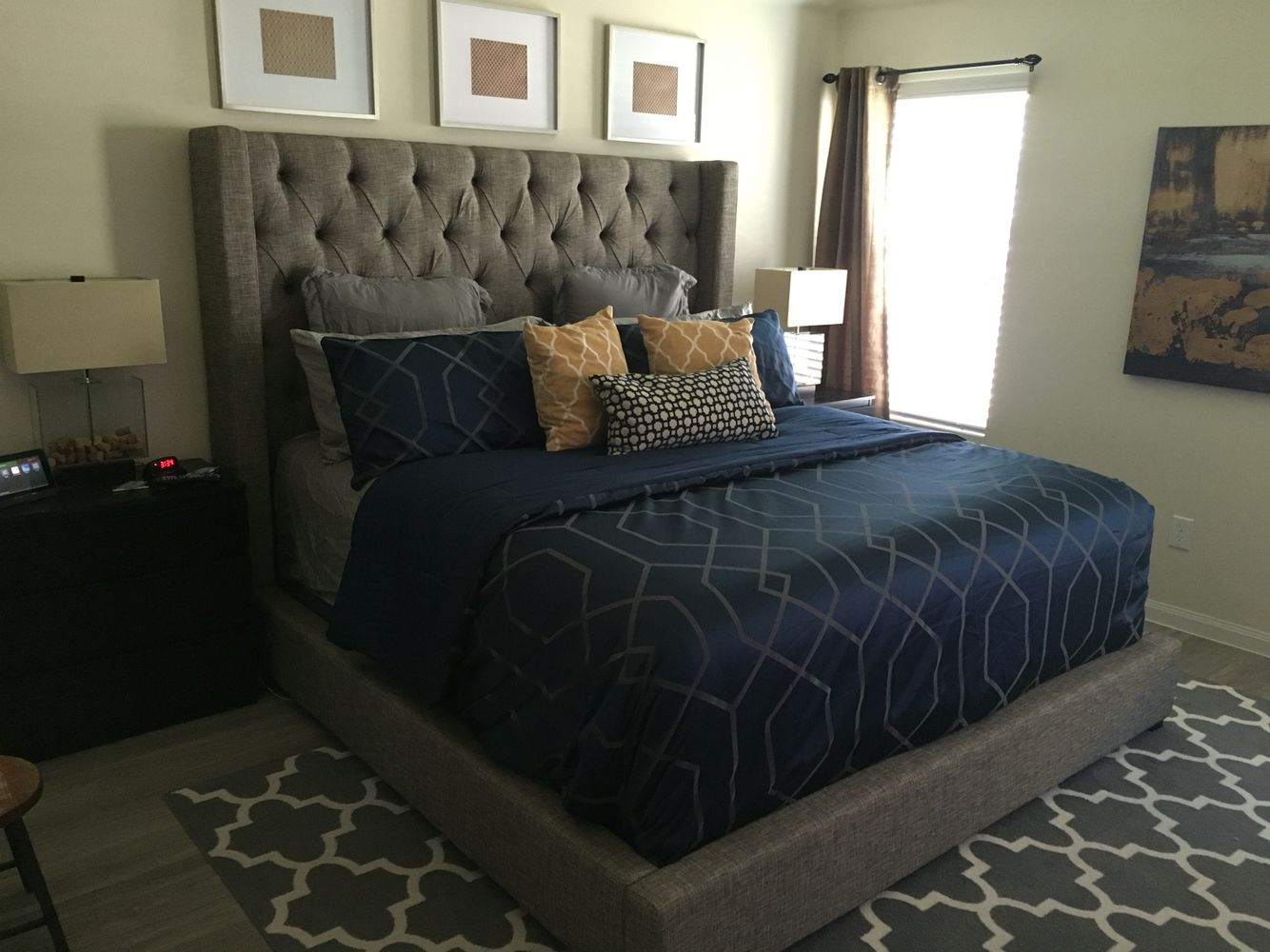 Hotel inspired bedroom suite sorinella bed ashley furniture malm side drawers ikea for Ashley furniture bedroom suites