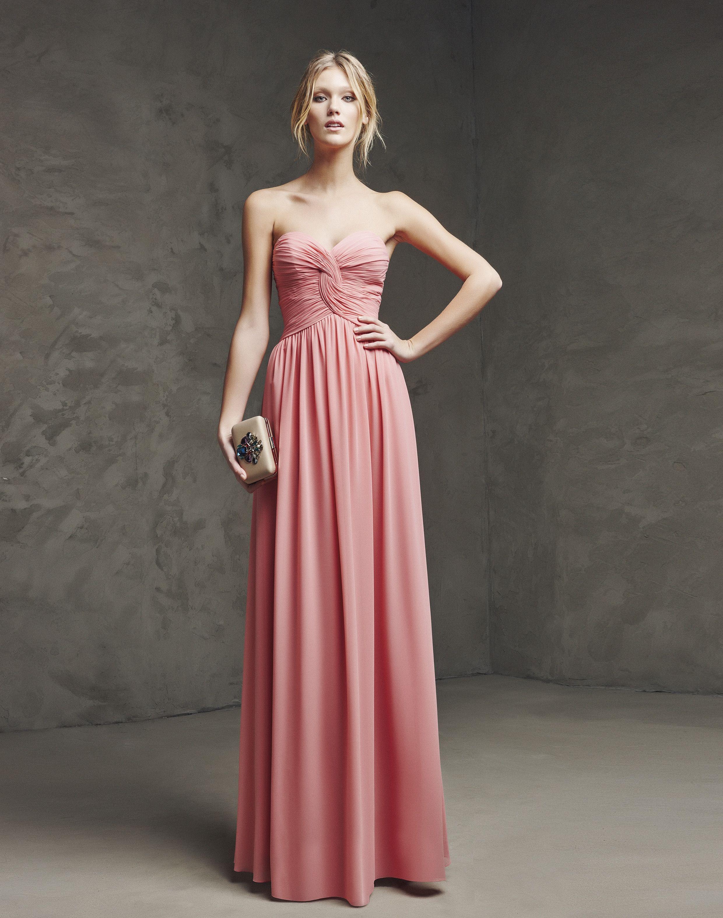 LARIMA (Vestido de Fiesta). Diseñador: Pronovias. ... | Moda para ...