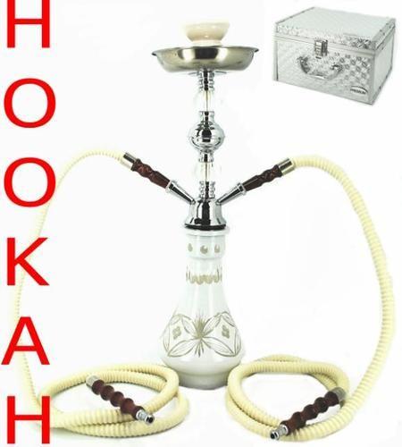Custom Hookah Pipes: White Hookah Pipe Custom Case Smoke Pipe Huka Hooka