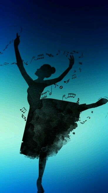 Ballerina Music Notes Wallpapers Iphone Cute Adorable Love Beautiful Amazing Planos De Fundo