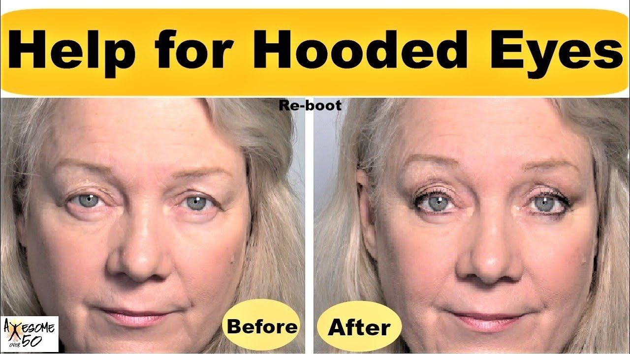 Hooded, Downturned Eyes Lifted, revamped Makeup Tips Video for
