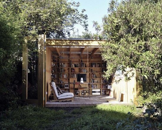 Fresh air, books and a place to sit