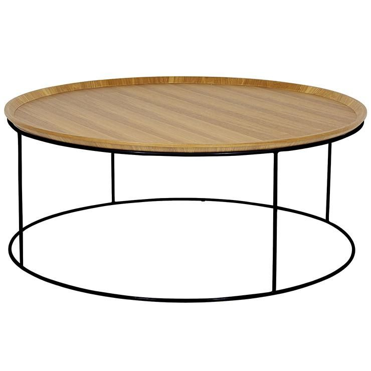 Soho Round Coffee Table Natural Ash Project L