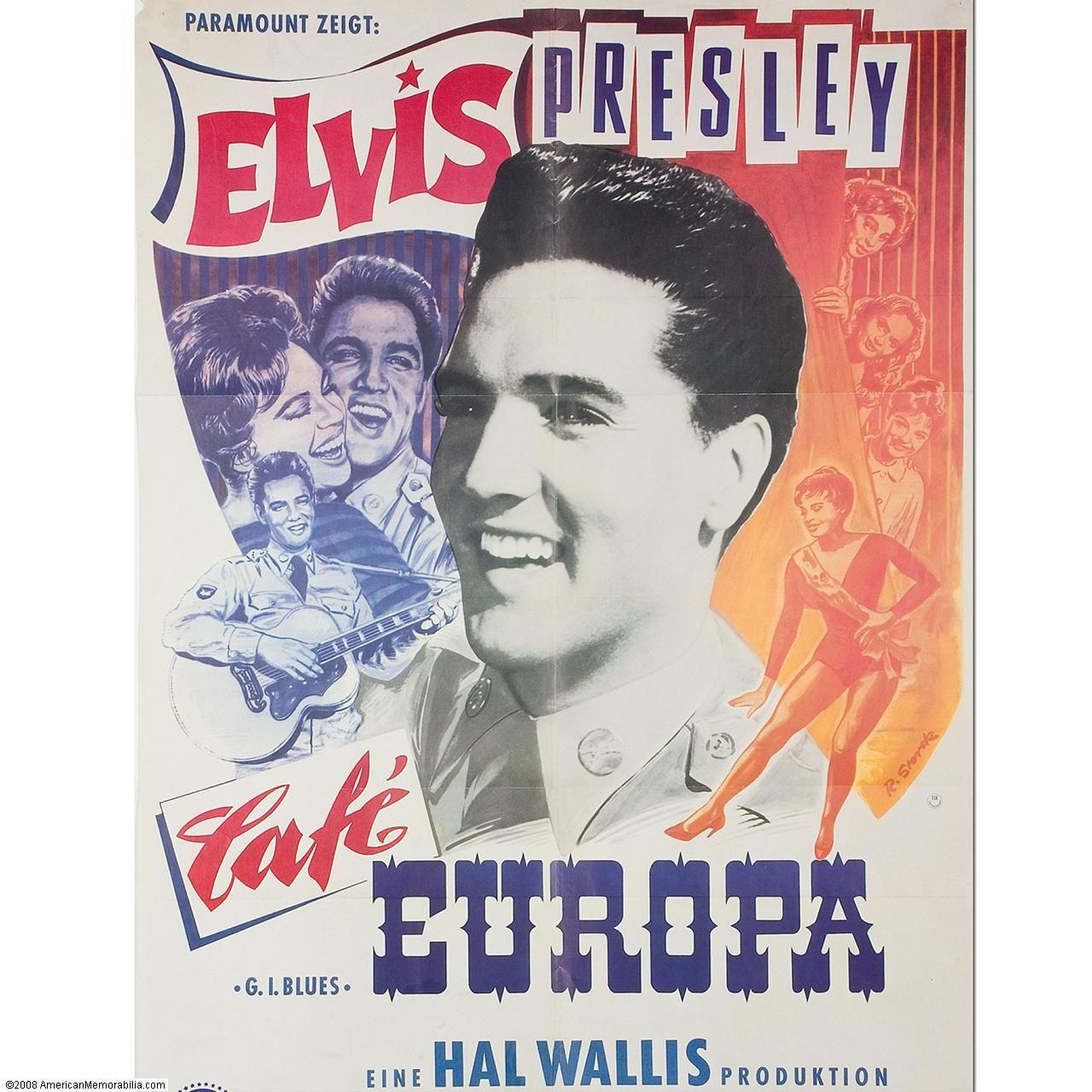 Elvis Movie Poster Germany