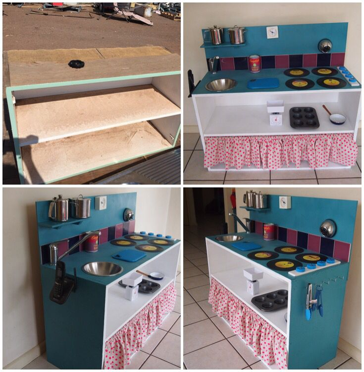 Diy Kids Play Kitchen Before And After Diy Kids Kitchen Diy