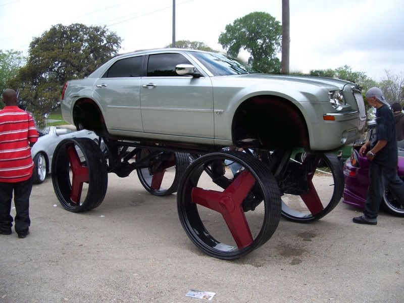 Chrysler 300 On 26 Inch Rims Find the Classic Rims of Your Dreams ...