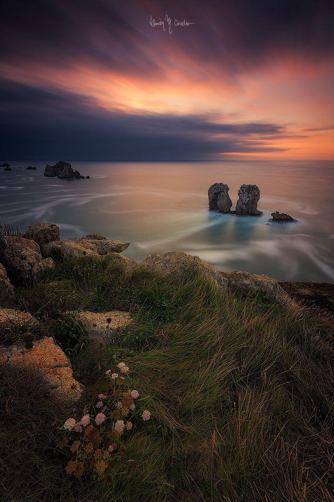 Delicate sunset by Ramón Menéndez Covelo
