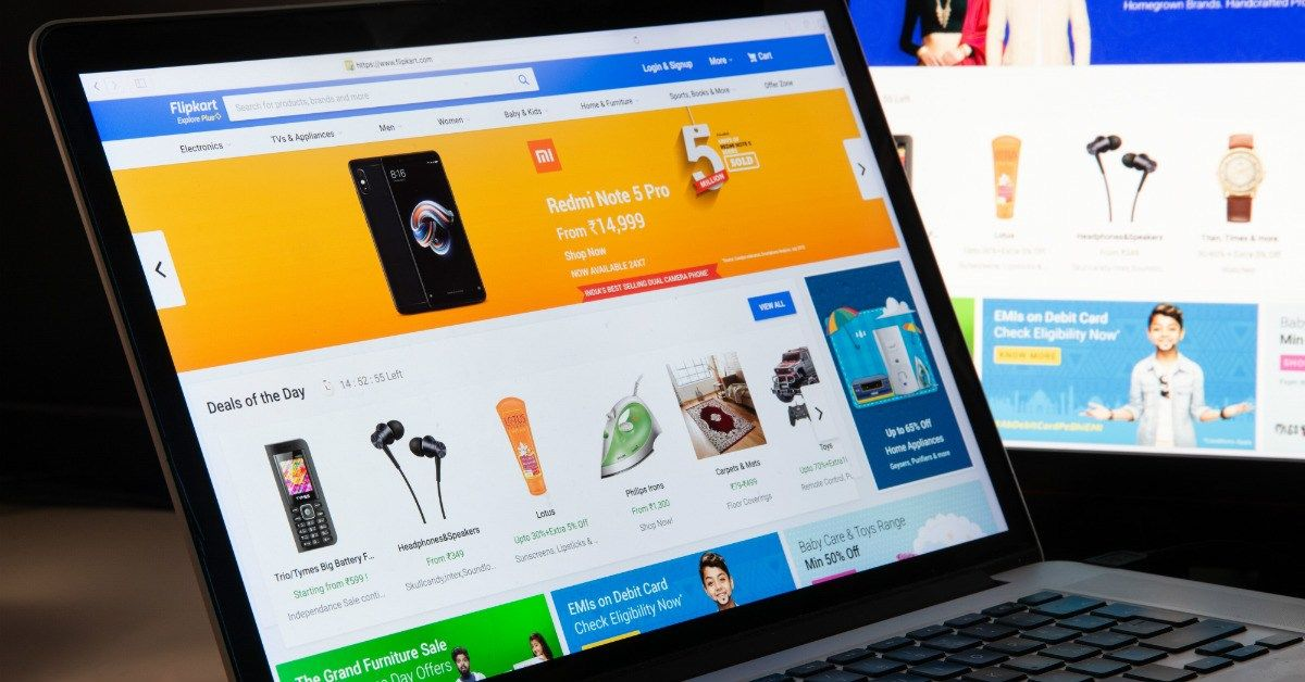 Flipkart Receives 200.8 Mn Investment From Its Parent Co