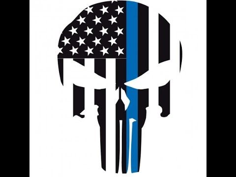 How To Cricut Vinyl Layering Punisher Thin Blue Line Car Decal - How to make car decals with cricut expression