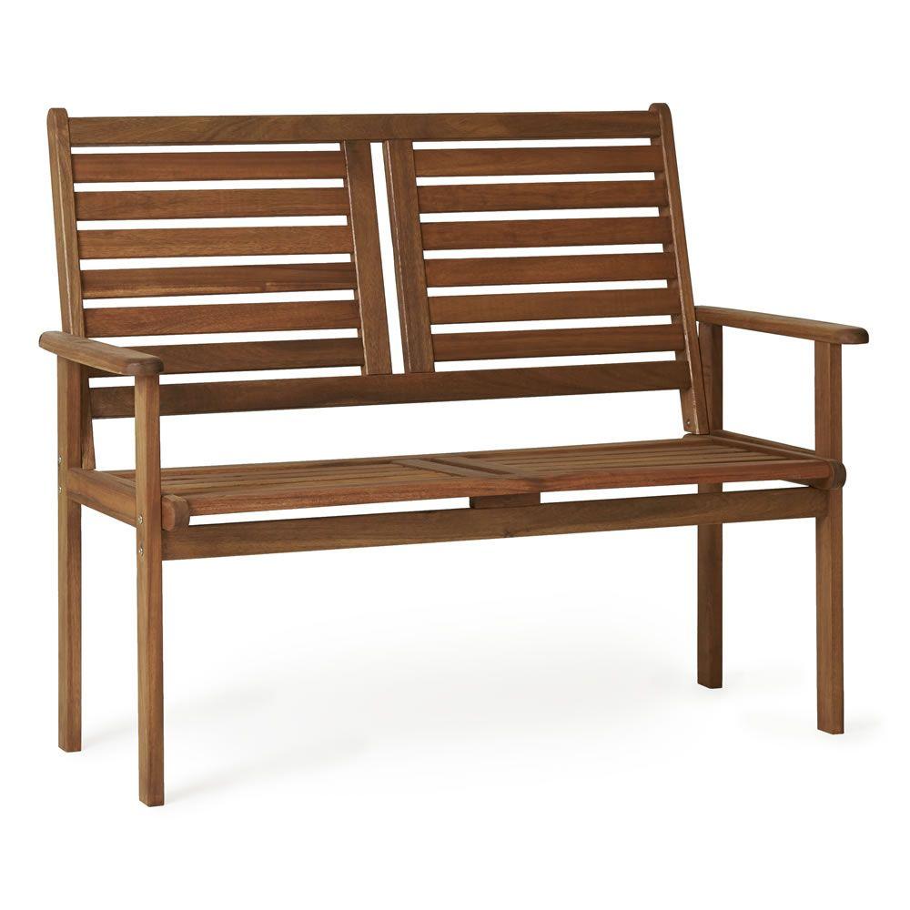 FSC Wooden Garden Bench   Wooden garden benches, Bench and Gardens