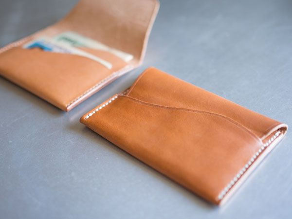 Awesome Leather Crafts To Try Leather Wallet Pattern Diy