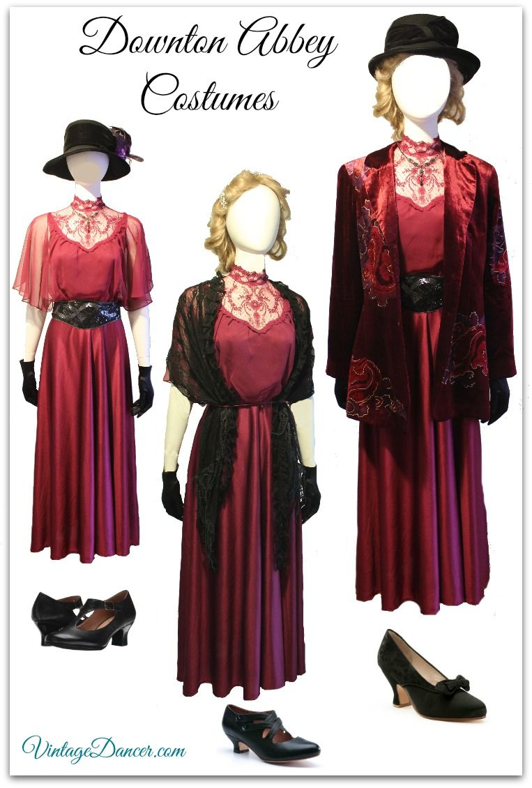 1920s Outfit Ideas: 10 Downton Abbey Inspired Costumes