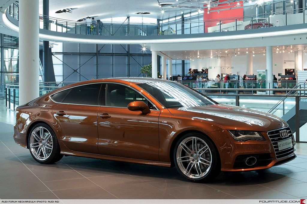 Audi A Special Ordered With Ipanema Brown Paint By Audi Exclusive - Audi a6 forum