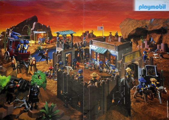 Playmobil 3023 - Fort Eagle (frente)