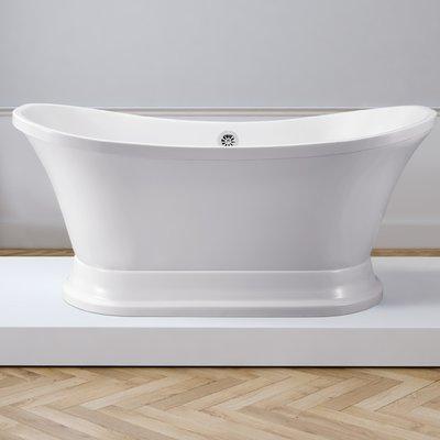 Streamline Bath 60 X 32 Freestanding Soaking Bathtub Soaking Bathtubs Bathtub Luxury Bathtub
