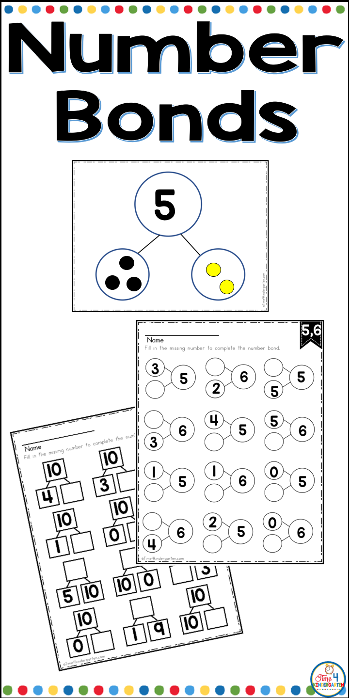 Composing And Decomposing Numbers Math Number Sense Number Bonds Math Work Stations [ 1440 x 720 Pixel ]