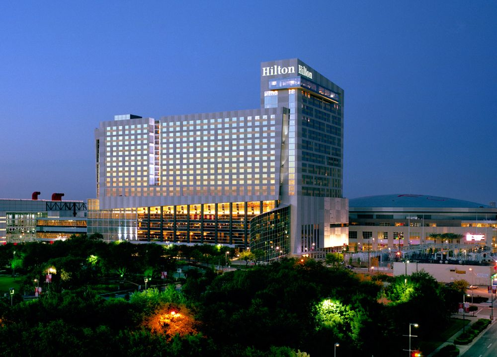 Hilton Americas Located In The Heart Of Downtown Houston Texas Guests Will Enjoy