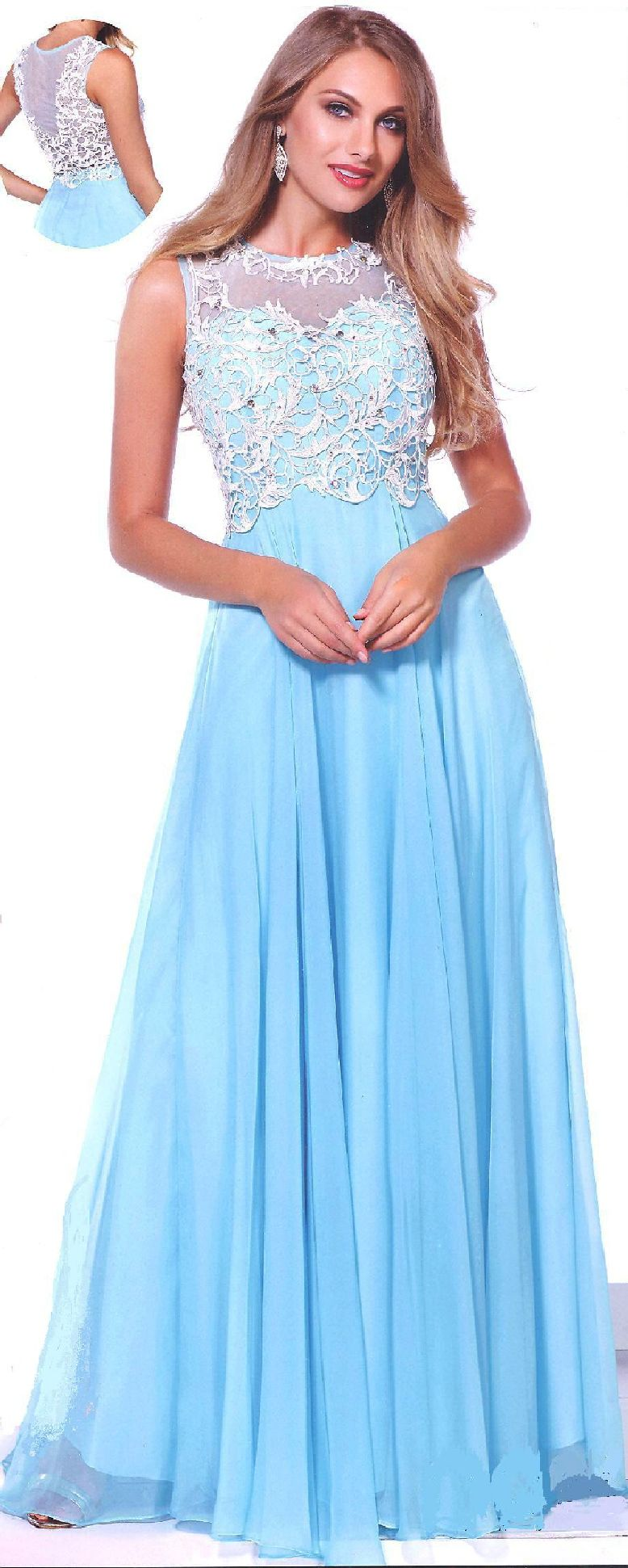 Evening Dresses Prom Dresses under $200<BR>ana8154<BR>Sheer illusion ...