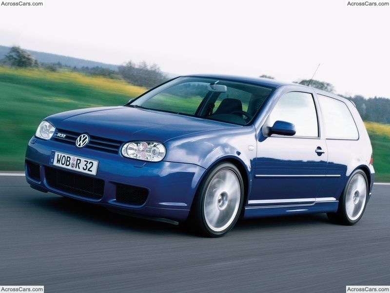 Volkswagen Golf R32 2002 Volkswagen Volkswagen Golf Vw Golf Mk4