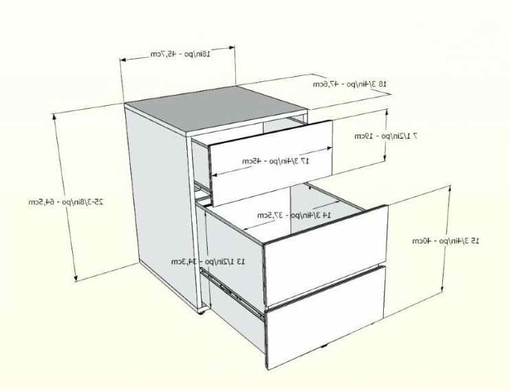 Legal Size File Cabinet Dimensions