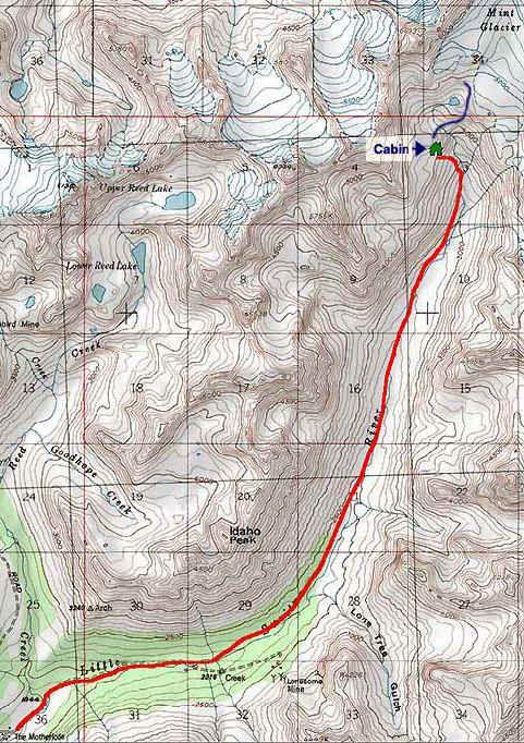 Golden Mint Trail Topo Map Fitness Pinterest Alaska And Hiking - Alaska topo maps