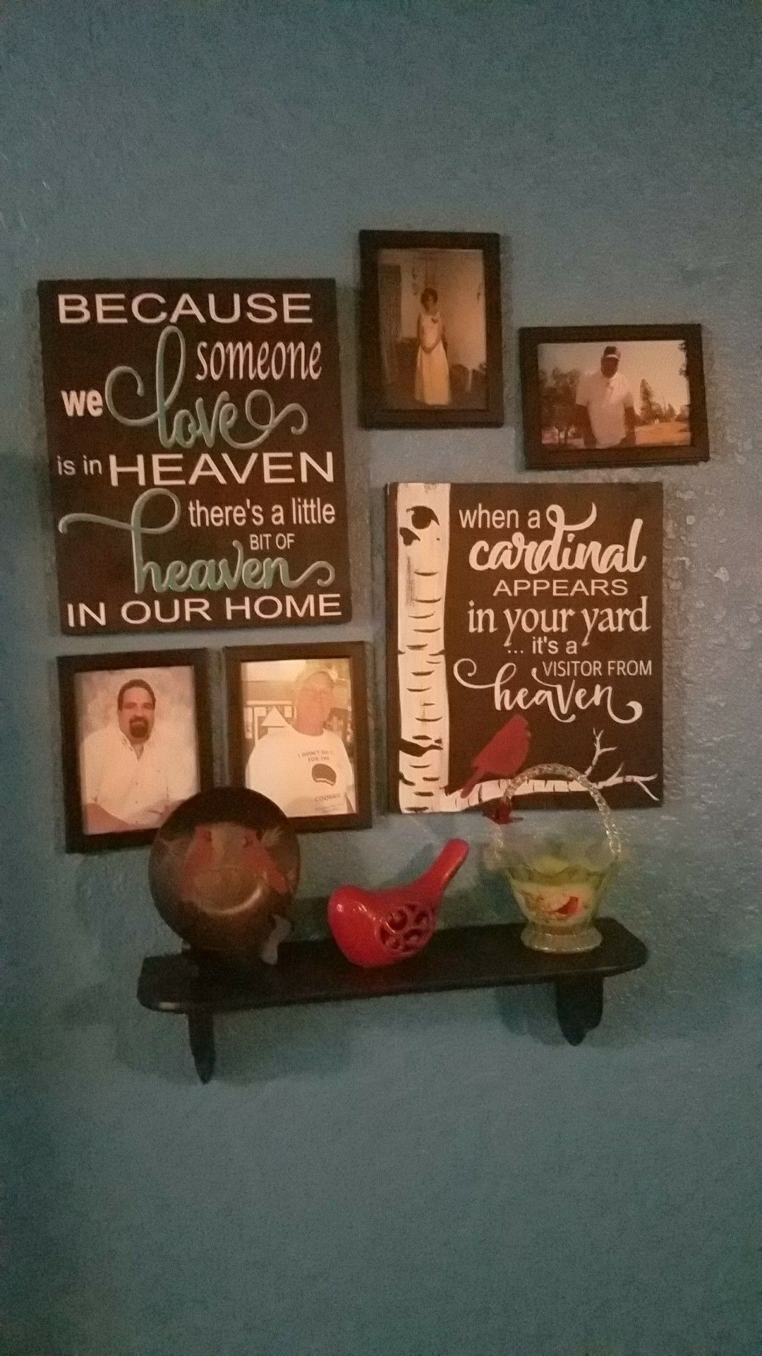 In Memory Of A Loved One Wall Decor Idea Wall Decor Memories