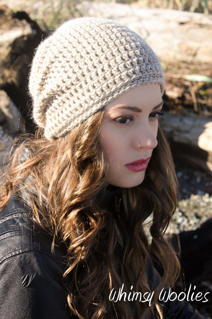Crochet Hat Pattern: Cancer Hat, \'Matt\'s Cap\', Chemo Hat, Adult ...