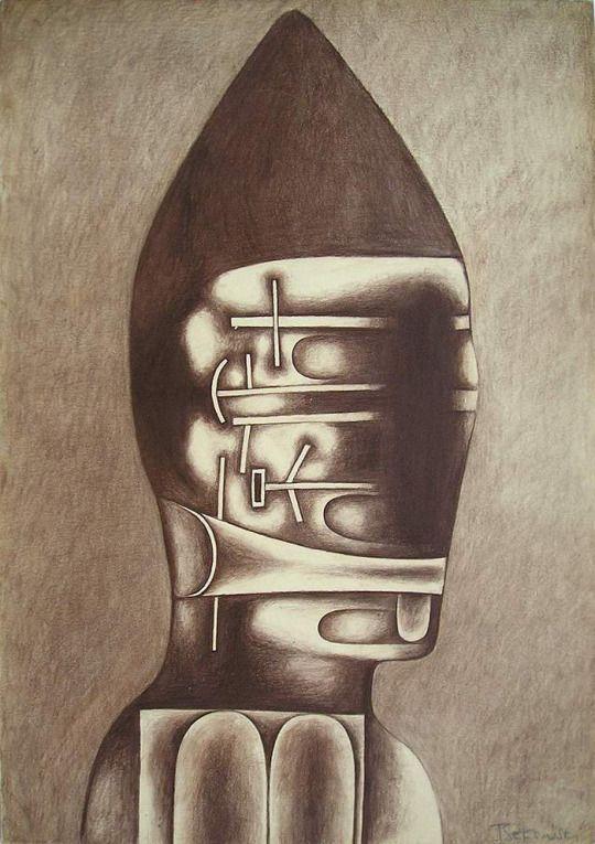 Zdzisław Beksiński. Untitled Drawings. 1953-1965.