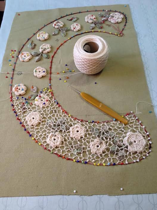 Outstanding Crochet: Learn Irish Crochet – Interview with Larisa Chilton at… We are want to say thanks if you like to share this post to another people via your facebook, pinterest, google plus or twitter account. Right Click to save picture or tap and hold for seven second if you are u...