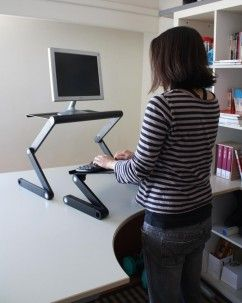 WorkEZ Standing Desk Desks Monitor stand and Office spaces