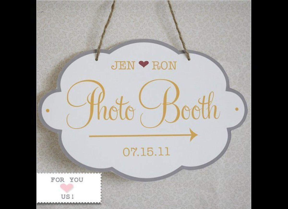 13 Wedding Favors You Can Get For Free | Photo booth, DIY wedding ...