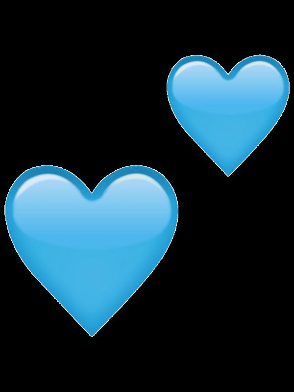 Blueheart Heartemoji Freetoedit Report Blue Heart Emoji Transparent Blue Heart Emoji Heart Emoji Emoji