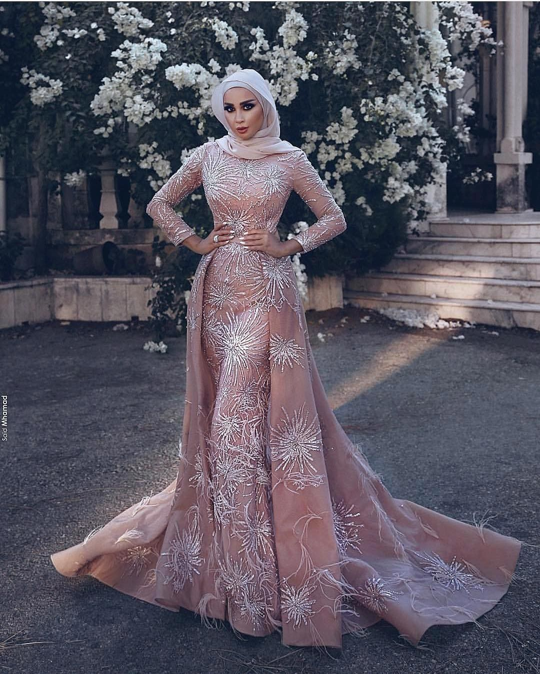 Pin by ceci medina on blusas pinterest muslim gown prom and