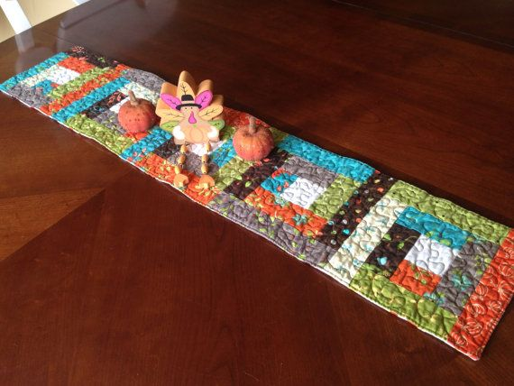 Sofa Table Runners Kent Motion And Loveseat Reversible Fall Runner Quilted By Simplychicgal